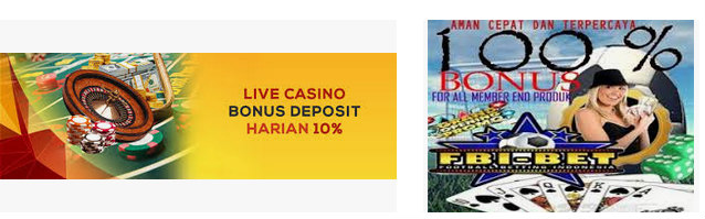 bonus deposit casino sbobet