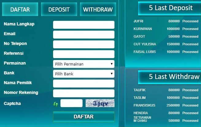 cara witdraw agen resmi sbobet online