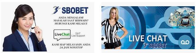 live chat sbobet online